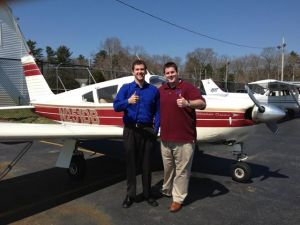 My student Ted Wilbar earned his CFI 4/8