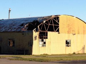 Southbridge Airport still shows signs of the 2011 tornado 11/16