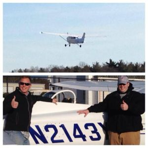 Primary student Will Richmond made his first solo flight 11/30