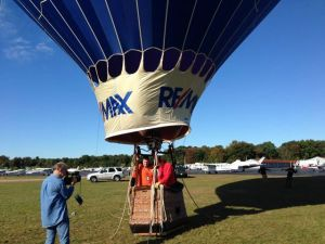 Recorded Aviation Adventures in a hot air balloon at the 2013 Mansfield Airport Fly In