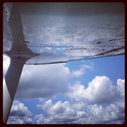 cloud reflections