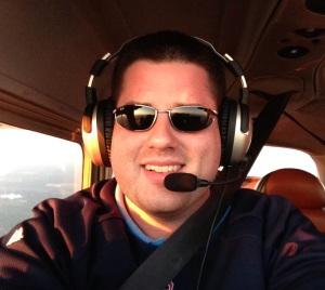 Flying with my Lightspeed Zulu headset!