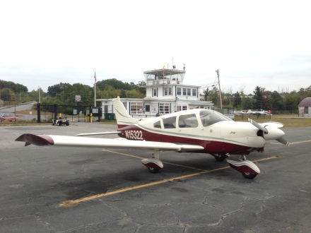 plane and building