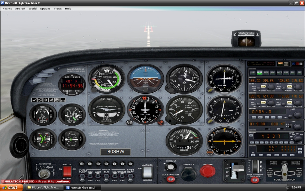 The 5 Benefits of Flight Simulator X for IFR Pilots (4/6)