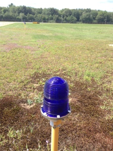 A taxiway light