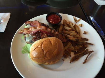 Matt's favorite, the bacon cheese burger, always good!