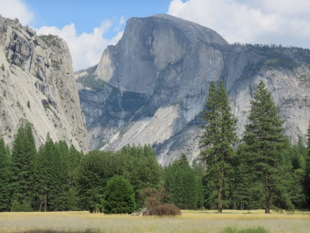 Half Dome at Yosemite National Park, not aviation related, but come on... That's an incredible shot!