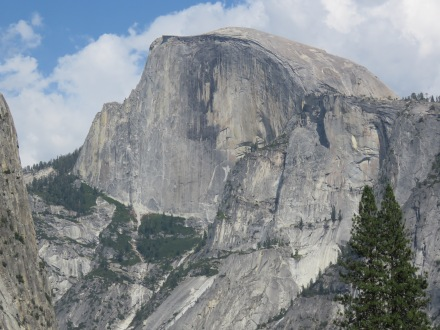Half Dome at Yosemite National Park, it may not be aviation related, but come on... That's an incredible shot!