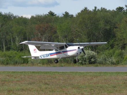 Flight training aircraft