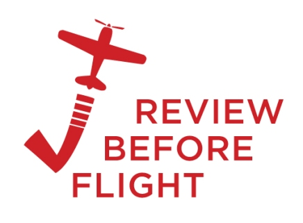 Our new look logo for the best aviation blog around!